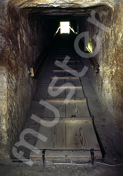 Cheops-Pyramide: Gang, Bild-Nr. Grßansicht: 27a/11