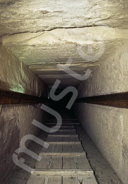 Cheops-Pyramide: Gang, Bild-Nr. Grßansicht: 27a/4