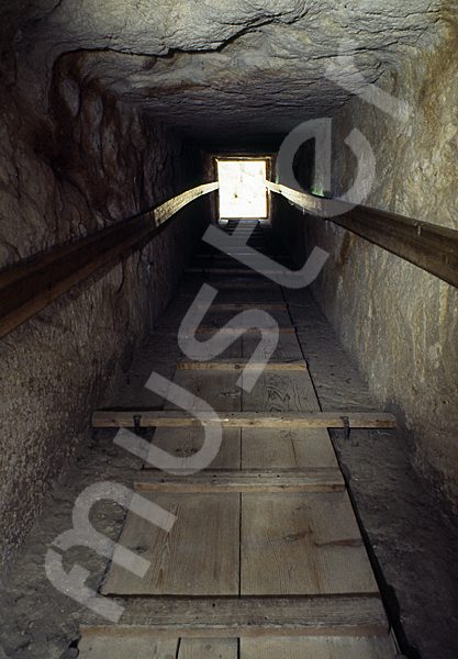 Cheops-Pyramide: Gang, Bild-Nr. Grßansicht: 27a/5