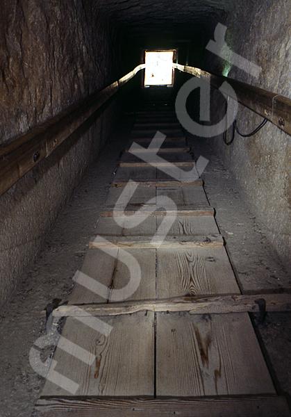 Cheops-Pyramide: Gang, Bild-Nr. Grßansicht: 27a/8