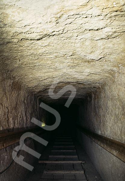 Cheops-Pyramide: Gang, Bild-Nr. Grßansicht: 27a/9