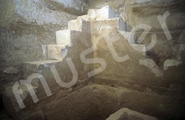 Cheops-Pyramide: Haupt- / Grabkammer, Bild-Nr. Grßansicht: 22a/31