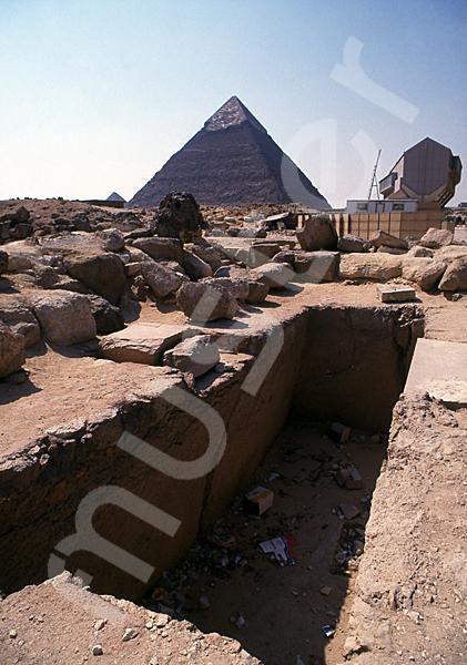 Cheops-Pyramide: Haupt- / Grabkammer, Bild-Nr. Grßansicht: 23b/26
