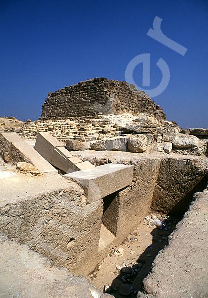Cheops-Pyramide: Haupt- / Grabkammer, Bild-Nr. Grßansicht: 23b/27