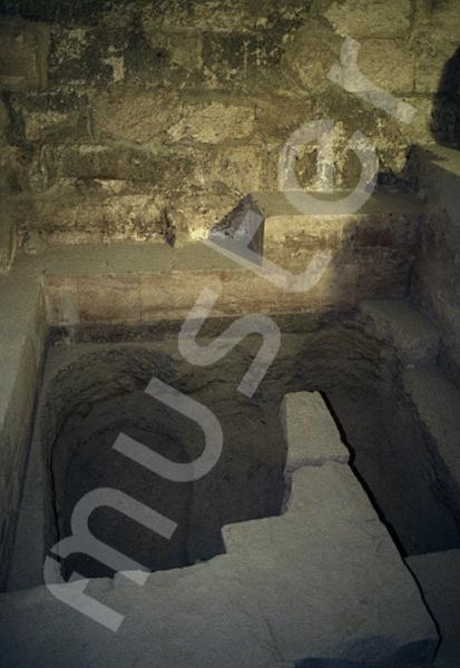 Cheops-Pyramide: Haupt- / Grabkammer, Bild-Nr. Grßansicht: 26a/40