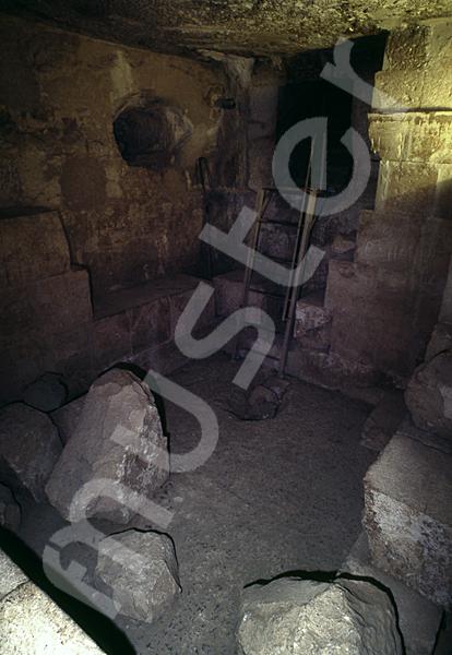 Cheops-Pyramide: Haupt- / Grabkammer, Bild-Nr. Grßansicht: 26b/26