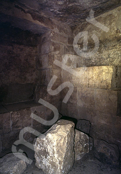 Cheops-Pyramide: Haupt- / Grabkammer, Bild-Nr. Grßansicht: 26b/28