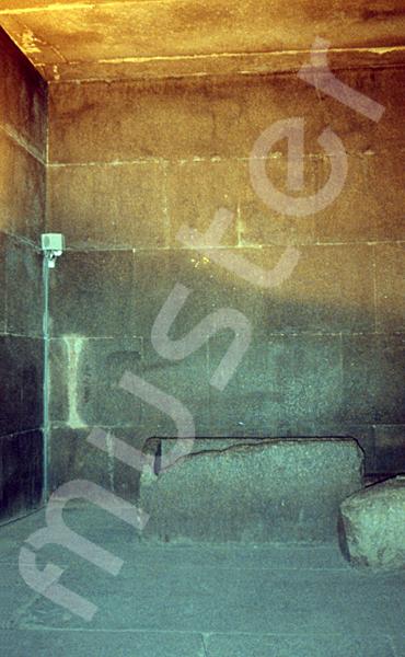 Cheops-Pyramide: Grab- / Königskammer, Bild-Nr. Grßansicht: 25b/17