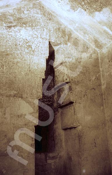 Cheops-Pyramide: Nische, Bild-Nr. Grßansicht: 25a/35