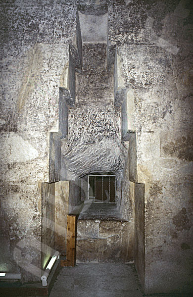 Cheops-Pyramide: Nische, Bild-Nr. Grßansicht: 25a/41