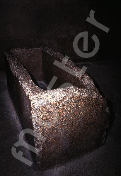 Cheops-Pyramide: Sarkophag, Bild-Nr. Grßansicht: 26a/18