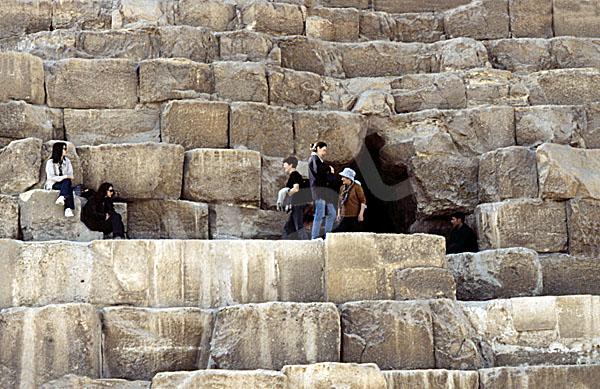 Cheops-Pyramide: Seite, Bild-Nr. Grßansicht: 23a/22