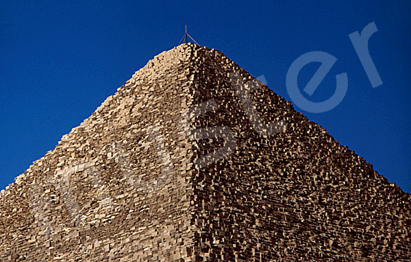 Cheops-Pyramide: Spitze / Pyramidion, Bild-Nr. Grßansicht: 20a/11