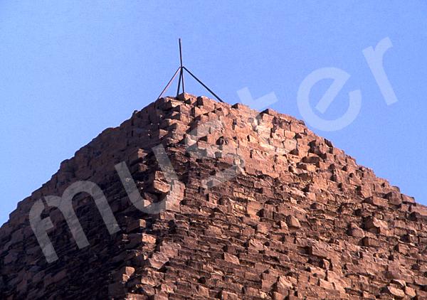 Cheops-Pyramide: Spitze / Pyramidion, Bild-Nr. Grßansicht: 23b/11