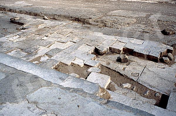Cheops-Pyramide: Umfassungs- / Temenosmauer, Bild-Nr. Grßansicht: 20b/7