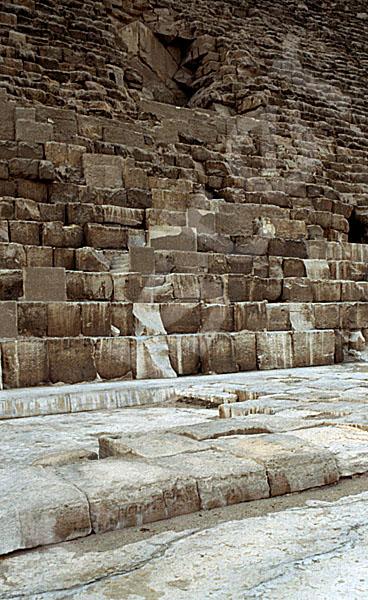 Cheops-Pyramide: Umfassungs- / Temenosmauer, Bild-Nr. Grßansicht: 20b/8