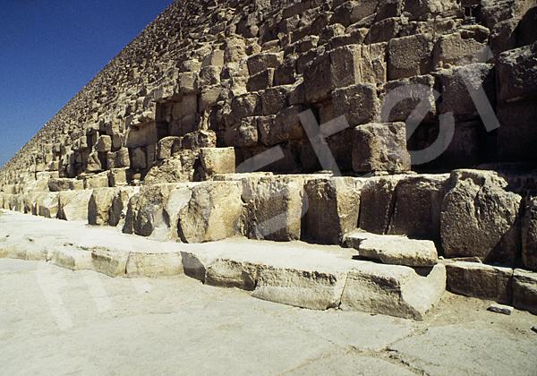 Cheops-Pyramide: Umfassungs- / Temenosmauer, Bild-Nr. Grßansicht: 23b/15