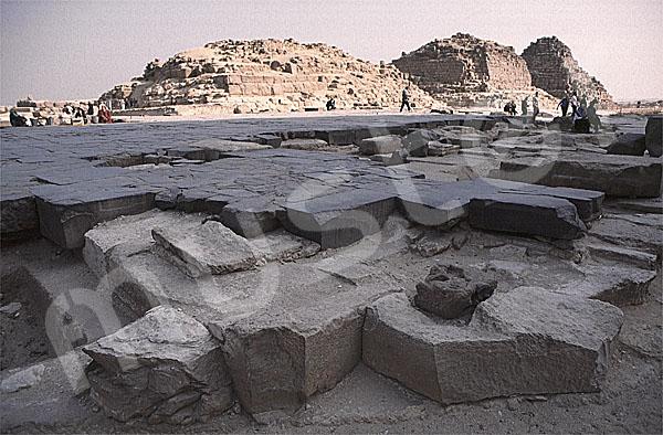 Cheops-Pyramide: Totentempel, Bild-Nr. Grßansicht: 20b/12