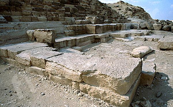 Cheops-Pyramide: Totentempel, Bild-Nr. Grßansicht: 21b/20