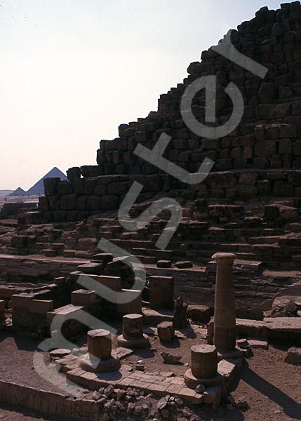 Cheops-Pyramide: Totentempel, Bild-Nr. Grßansicht: 21b/31