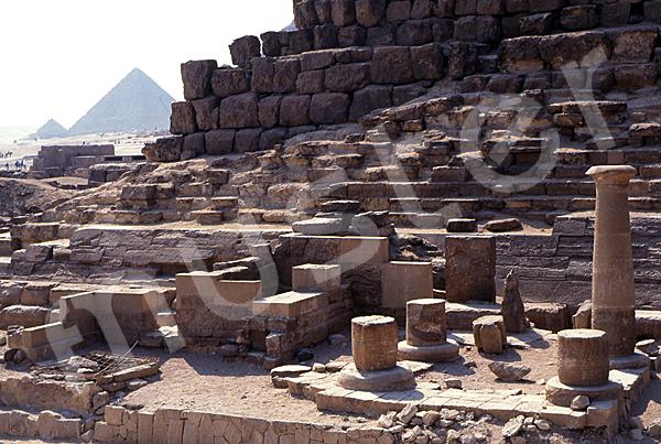 Cheops-Pyramide: Totentempel, Bild-Nr. Grßansicht: 21b/32