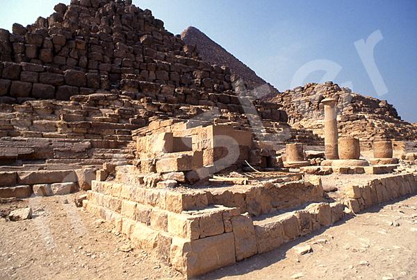 Cheops-Pyramide: Totentempel, Bild-Nr. Grßansicht: 21b/33