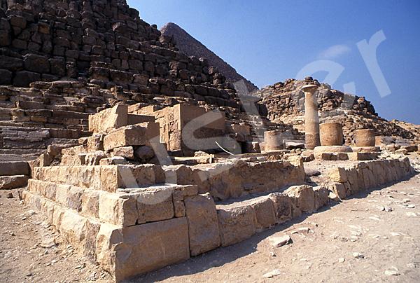 Cheops-Pyramide: Totentempel, Bild-Nr. Grßansicht: 21b/34
