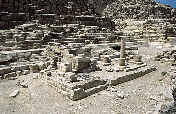 Cheops-Pyramide: Totentempel, Bild-Nr. Grßansicht: 22a/3