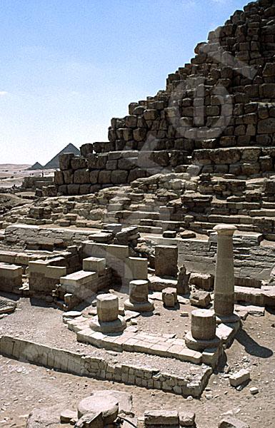 Cheops-Pyramide: Totentempel, Bild-Nr. Grßansicht: 22a/6
