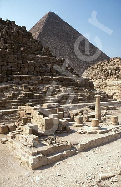 Cheops-Pyramide: Totentempel, Bild-Nr. Grßansicht: 23a/41