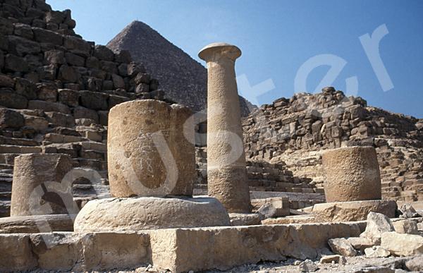 Cheops-Pyramide: Totentempel, Bild-Nr. Grßansicht: 23a/42