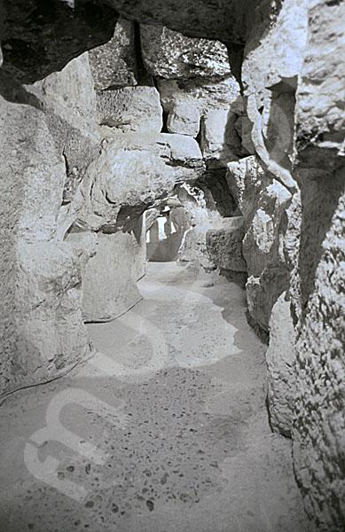 Cheops-Pyramide: Tunnel / Tunnenlsystem, Bild-Nr. Grßansicht: 25a/22