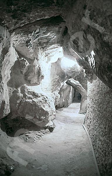 Cheops-Pyramide: Tunnel / Tunnenlsystem, Bild-Nr. Grßansicht: 25a/23