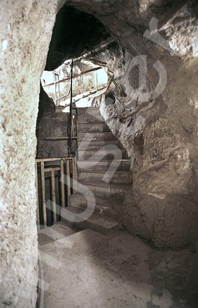 Cheops-Pyramide: Tunnel / Tunnenlsystem, Bild-Nr. Grßansicht: 25a/24