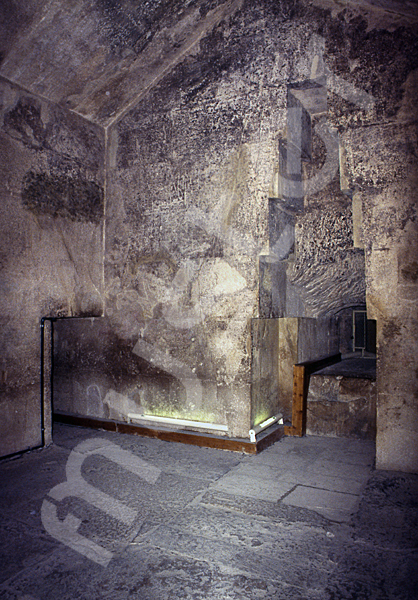 Cheops-Pyramide: Vor- / Königinnenkammer, Bild-Nr. Grßansicht: 26a/2
