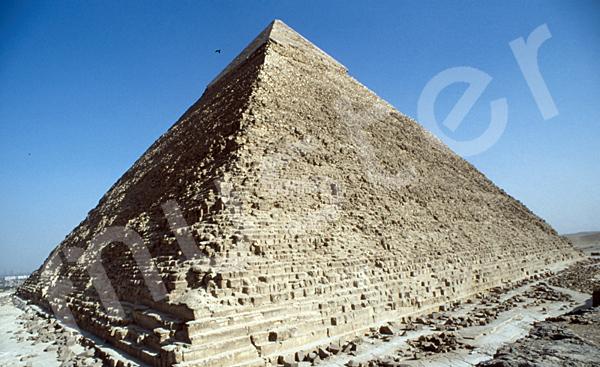 Chephren-Pyramide: Ecke, Bild-Nr. Grßansicht: 30a/1