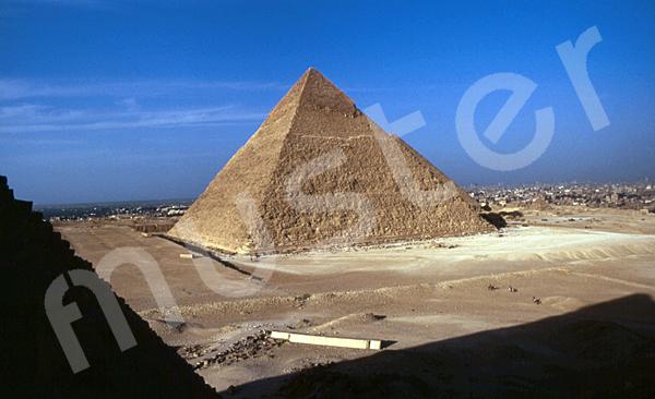 Chephren-Pyramide: Ecke, Bild-Nr. Grßansicht: 30a/13