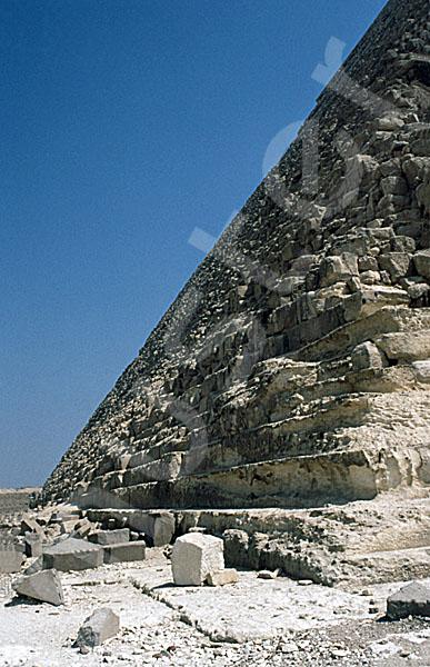 Chephren-Pyramide: Ecke, Bild-Nr. Grßansicht: 30a/22