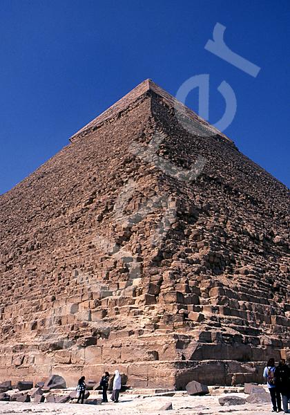 Chephren-Pyramide: Ecke, Bild-Nr. Grßansicht: 31b/28