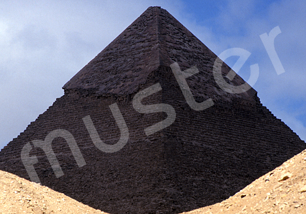 Chephren-Pyramide: Ecke, Bild-Nr. Grßansicht: 31b/34