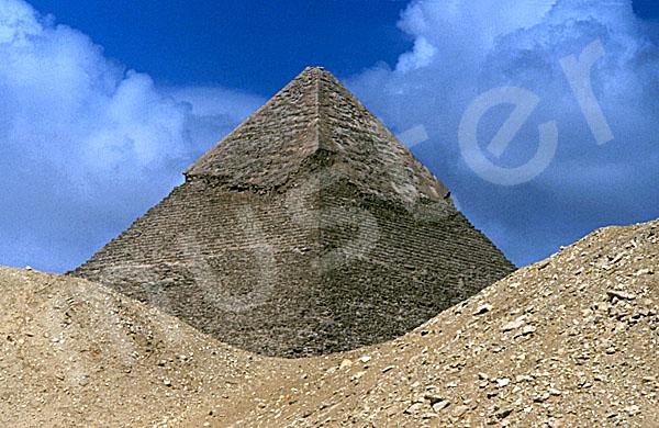 Chephren-Pyramide: Ecke, Bild-Nr. Grßansicht: 31b/4