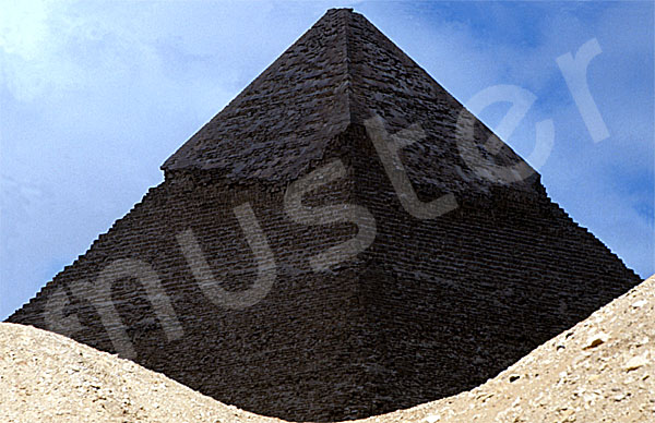 Chephren-Pyramide: Ecke, Bild-Nr. Grßansicht: 31b/5