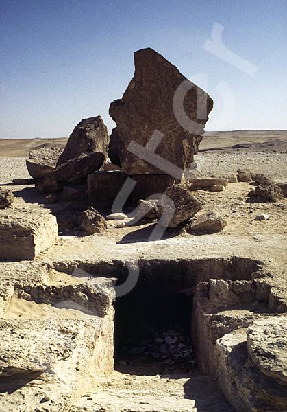 Chephren-Pyramide: Gang, Bild-Nr. Grßansicht: 32a/8
