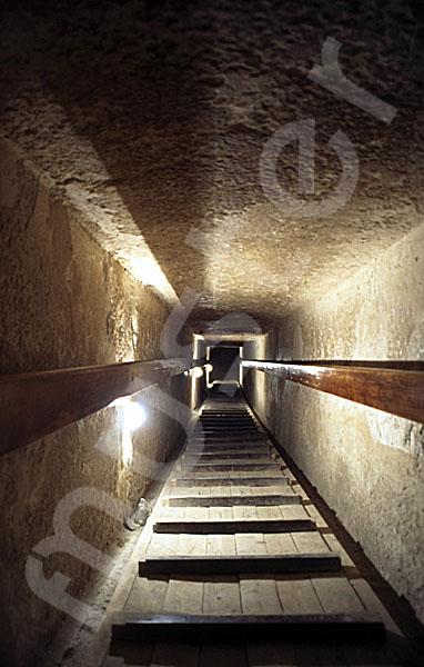 Chephren-Pyramide: Gang, Bild-Nr. Grßansicht: 35a/13