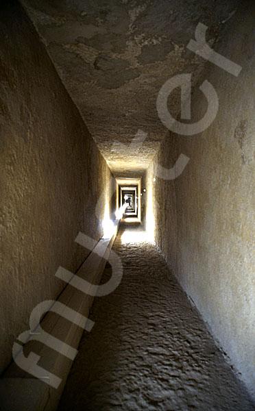 Chephren-Pyramide: Gang, Bild-Nr. Grßansicht: 35a/19