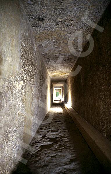 Chephren-Pyramide: Gang, Bild-Nr. Grßansicht: 35a/20