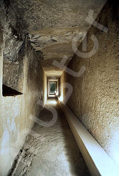 Chephren-Pyramide: Gang, Bild-Nr. Grßansicht: 35a/21