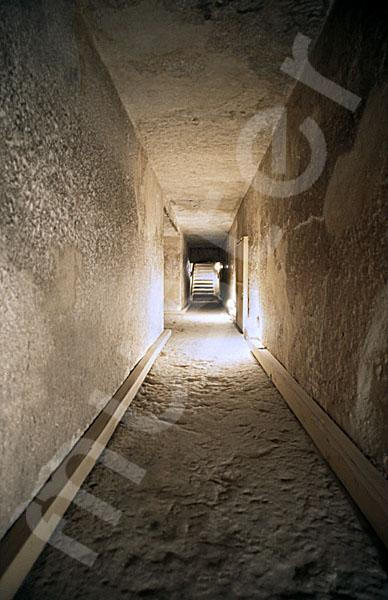 Chephren-Pyramide: Gang, Bild-Nr. Grßansicht: 35a/5