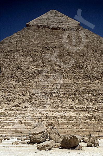 Chephren-Pyramide: Steinfragment, Bild-Nr. Grßansicht: 31a/17