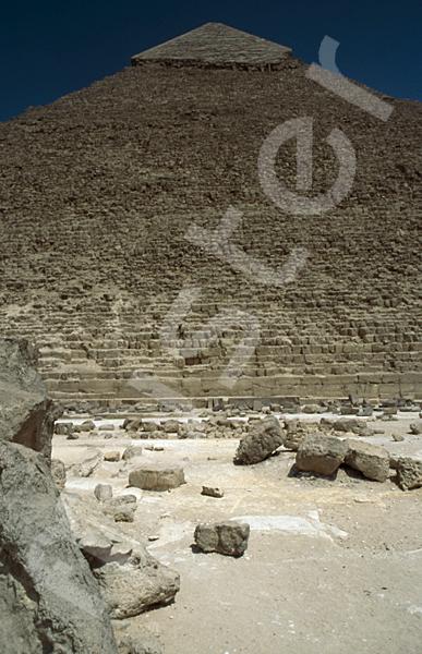 Chephren-Pyramide: Steinfragment, Bild-Nr. Grßansicht: 31a/18